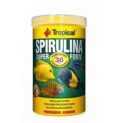 Tropical Super Spirulina Forte Flakes 36% Spirulina Tropical 1 Kg Tropical
