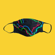 Neon Texas Face Mask