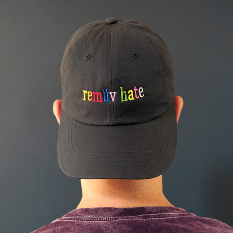 Remuv Hate Dad Hat