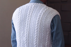Men's Cardigan (Sleeveless)