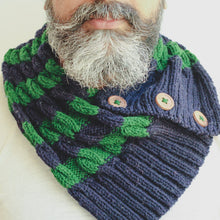 Men's Scarf with Beanie