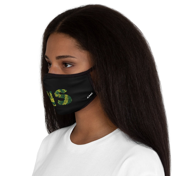 Fitted Polyester Face Mask - RARE.