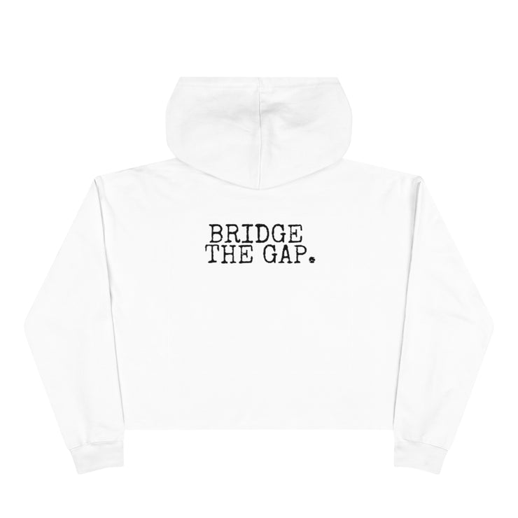 Because We Are Strong Podcast Cropped Hoodie - RARE.
