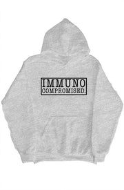 Immunocompromised Bold Hoodie With RARE. Hoodliner - RARE.