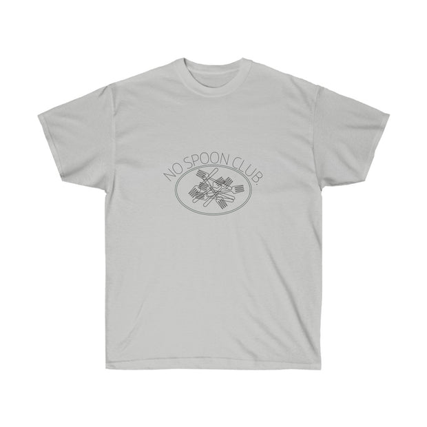 No Spoon Club Unisex Ultra Cotton Tee - RARE.