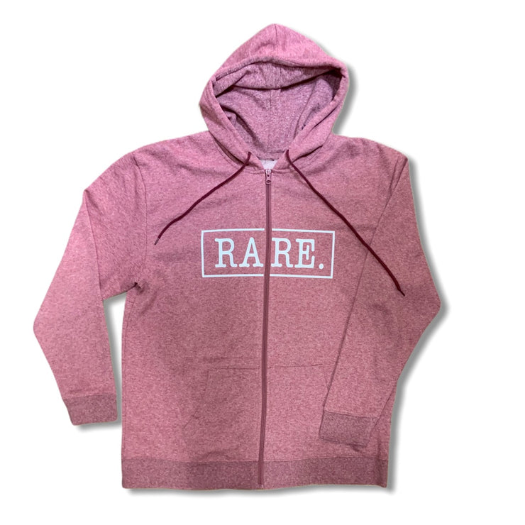 Women's RARE. Logo Zip up - RARE.