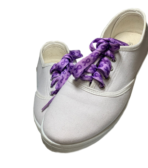 Walk your cause shoe laces - RARE.