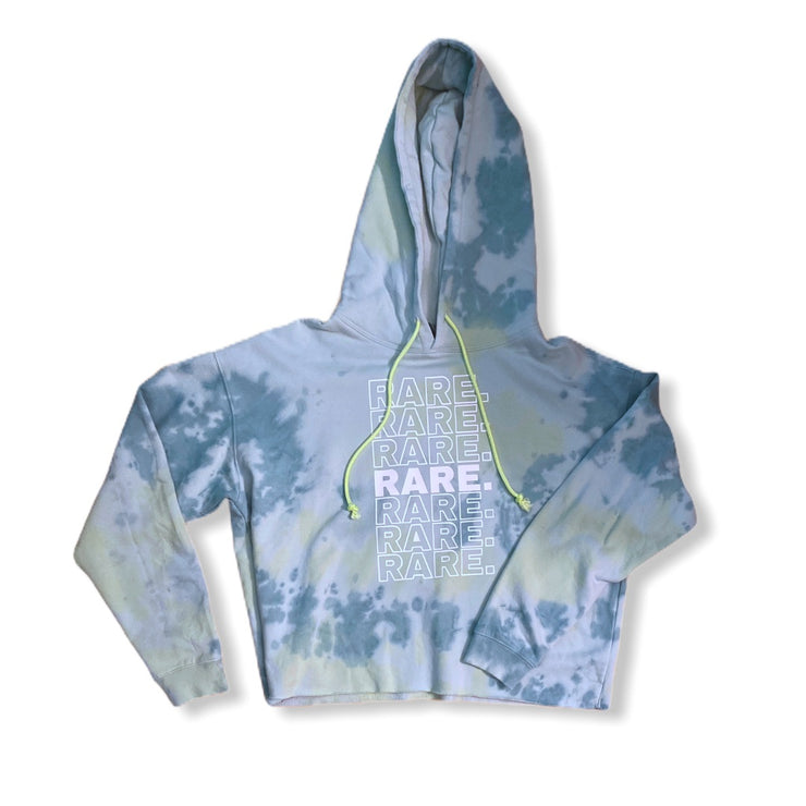 RARE. Repeat Cropped Hooded Sweatshirt - RARE.