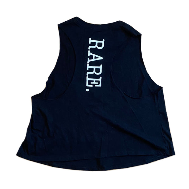 The way it is cropped racer back tank - RARE.