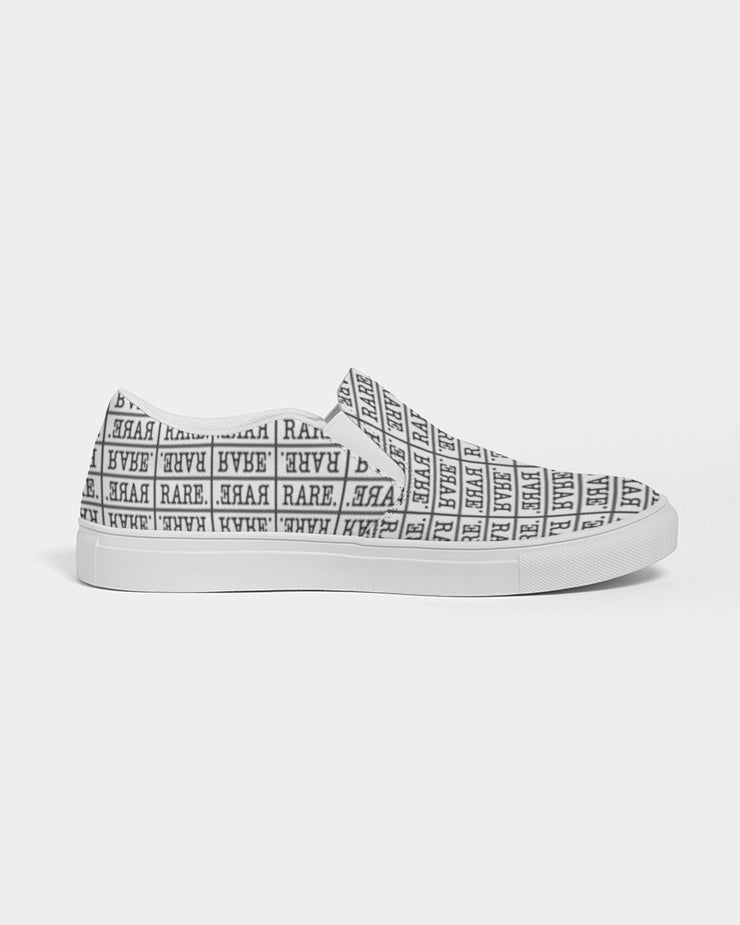 Repeating RARE. Slip On Sneakers Women's Slip-On Canvas Shoe - RARE.