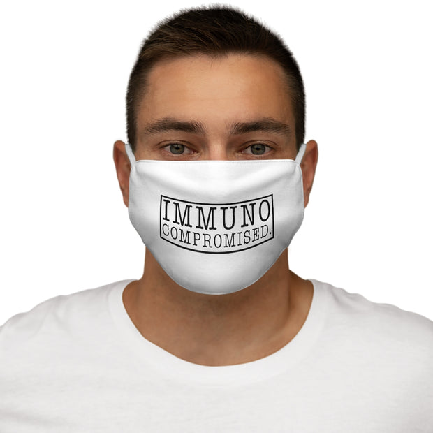 Immunocompromised White Mask