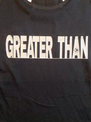 Greater Than Definition Racer back tank - RARE.