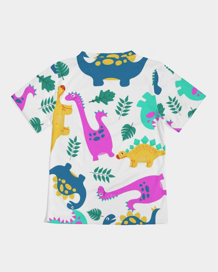 Dino All Over Print Kids Tee - RARE.