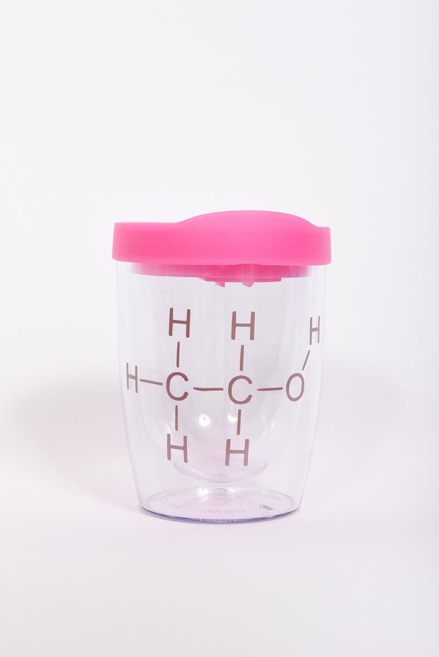 Alcohol Chemical Compound Acrylic Tumbler - RARE.