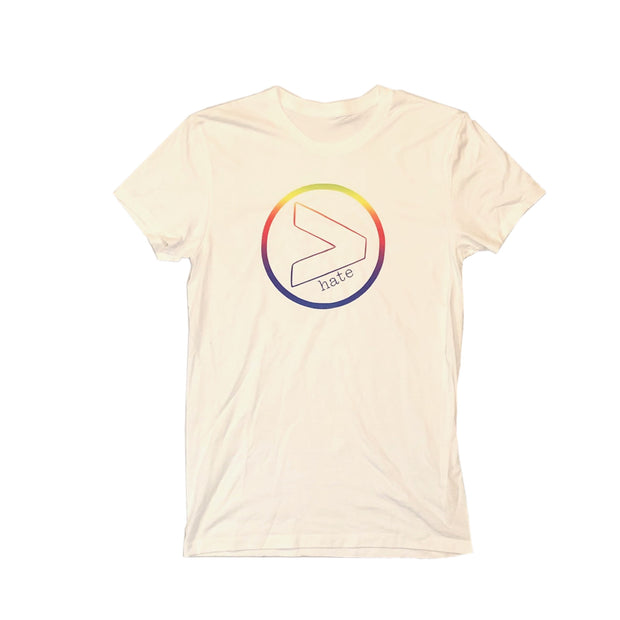 GREATER than Hate Rainbow Pride Tshirt - RARE.