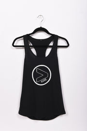 RARE. (X) Greater Than Project Logo Ladies Racerback Tank - RARE.