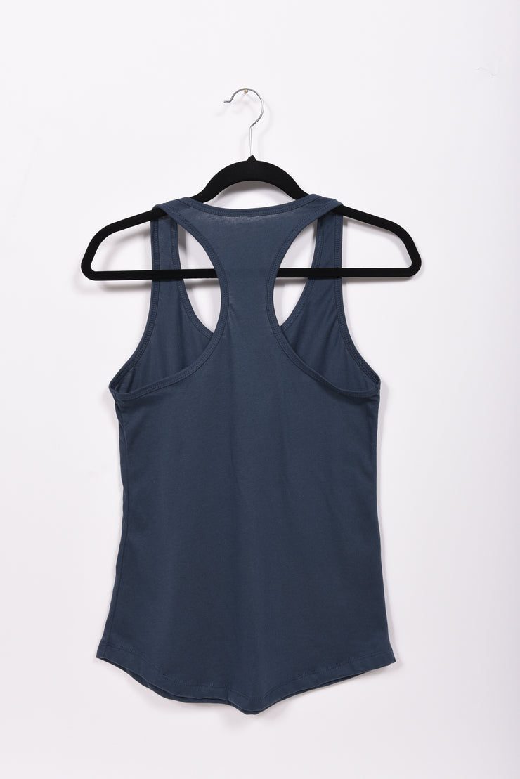 Scripted RARE. Ladies Ideal Racerback Tank