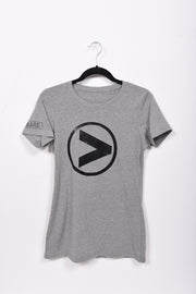 Greater Than _______. Logo Ladies Tee