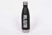 Greater Than stainless steel water bottle - RARE.