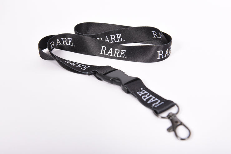 Signature RARE. Lanyard with detachable Keyring Clasp - RARE.