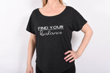 Find your Balance Ladies Tri-blend Dolman Tee