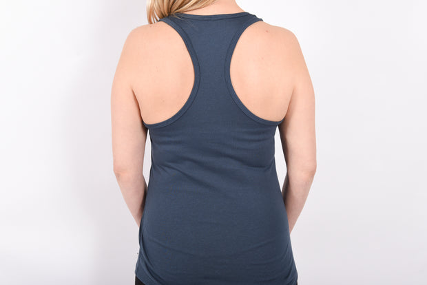 Scripted RARE. Ladies Ideal Racerback Tank - RARE.