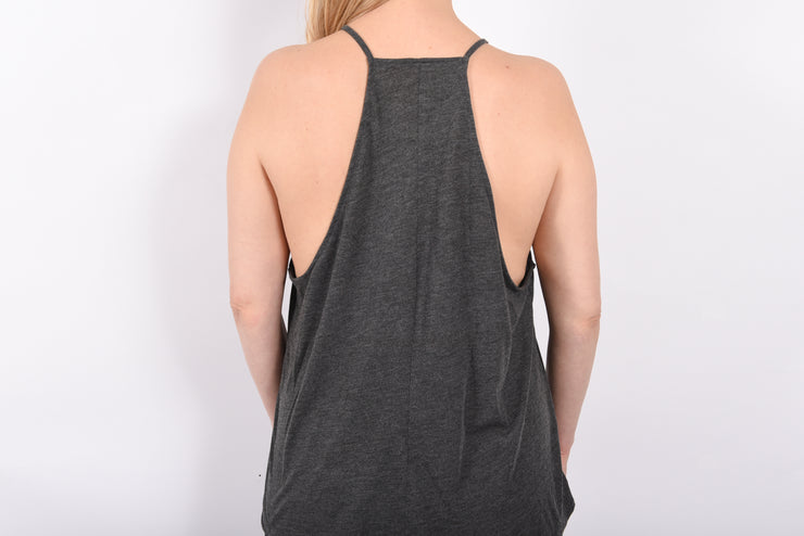 Scripted RARE. Ladies High Neck Flowy Tank - RARE.