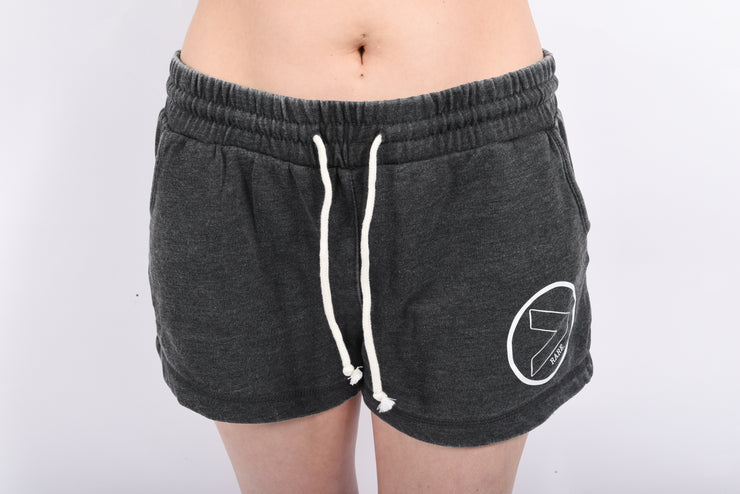 RARE. (X) Greater Than Project Logo Womens Washed Rally Shorts