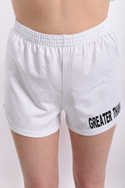 GREATER THAN simple yet powerful Jersey Knit Shorts