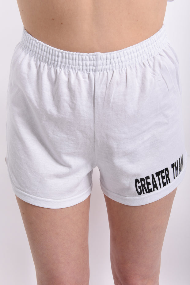 GREATER THAN simple yet powerful Jersey Knit Shorts - RARE.