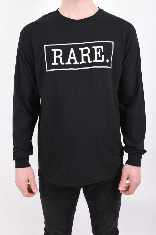 RARE. Signature Logo Unisex Long Sleeve T-Shirt - RARE.