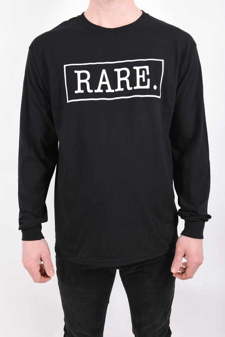 RARE. Signature Logo Unisex Long Sleeve T-Shirt