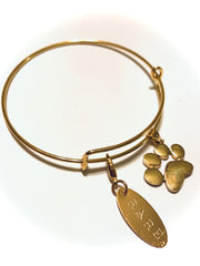 Karma Project Paw and RARE. Bangle - RARE.