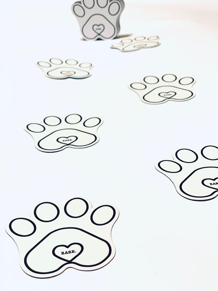 Karma Project Paw Print Magnet - RARE.