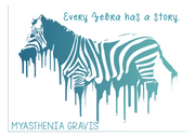 """Every Zebra Has a Story"" What's Yours? - RARE."