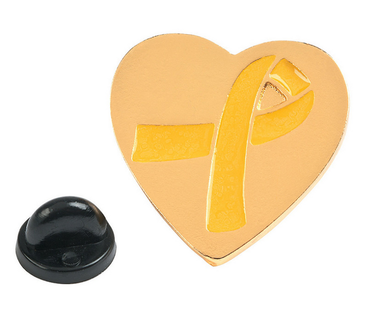 Childhood Cancer Awareness Pin - RARE.