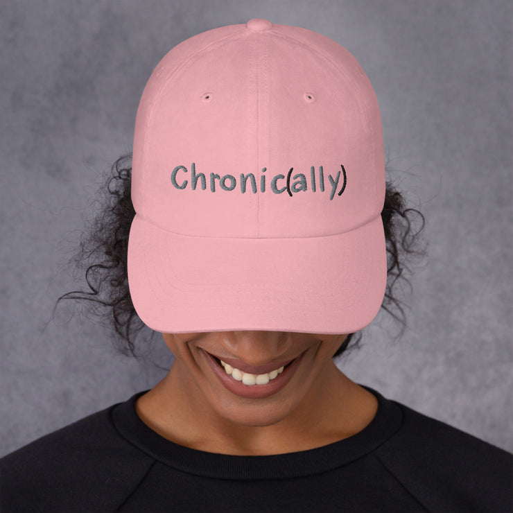 I'm With The Chronic Zebra Dad hat