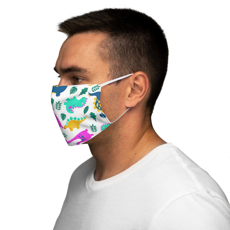 Dino All Over Adult Face Mask