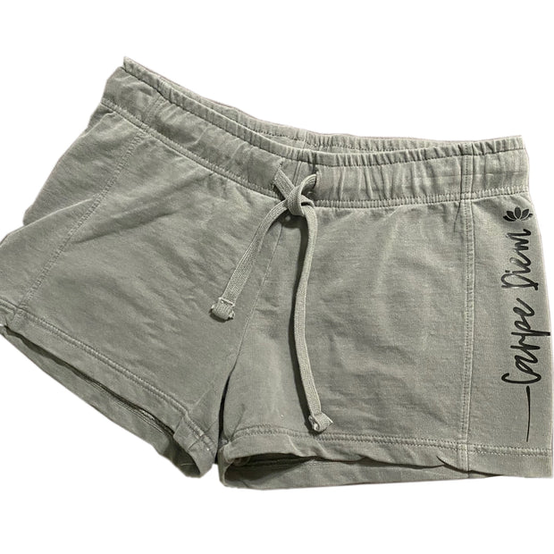 Carpe diem your way shorts - RARE.