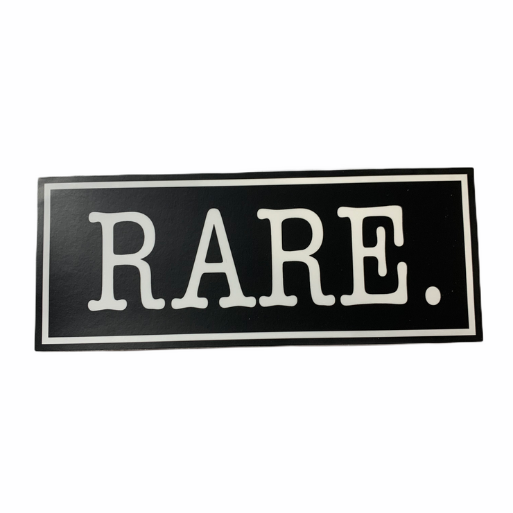 RARE. Signature Logo Bumper Sticker