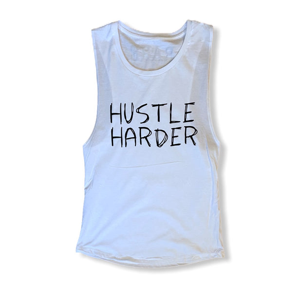 Hustle Hard Muscle Tank - RARE.