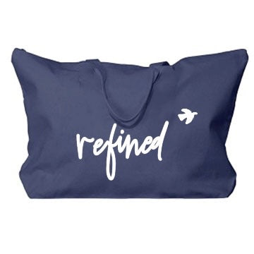 Refined Weekender Canvas Tote - RARE.