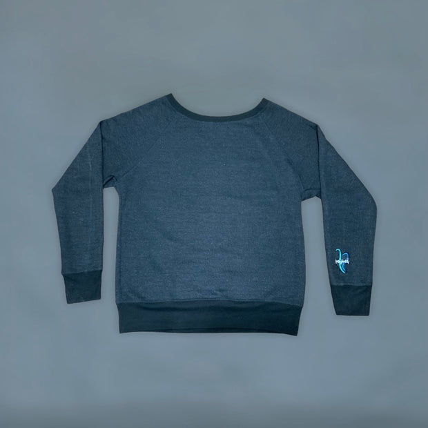 Refined patch crew neck - RARE.