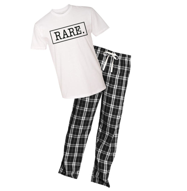 Signature Logo Flannel PJ Set - RARE.