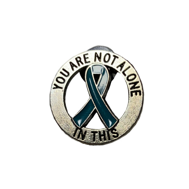 Myasthenia Gravis  Awareness Pin - RARE.
