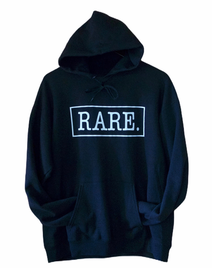 RARE. Signature Logo Mens Hooded Sweatshirt - RARE.