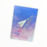 Fly free bookmark