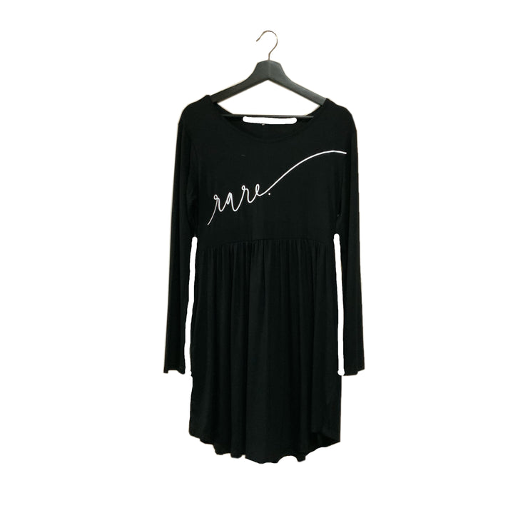 Scripted RARE. Light Weight Long Sleeve Dress - RARE.
