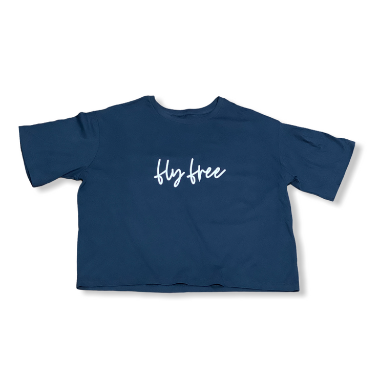 Fly Free Cropped Modest Tee - RARE.