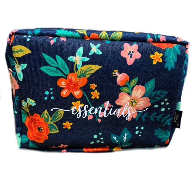 Essentials floral travel grab bag - RARE.